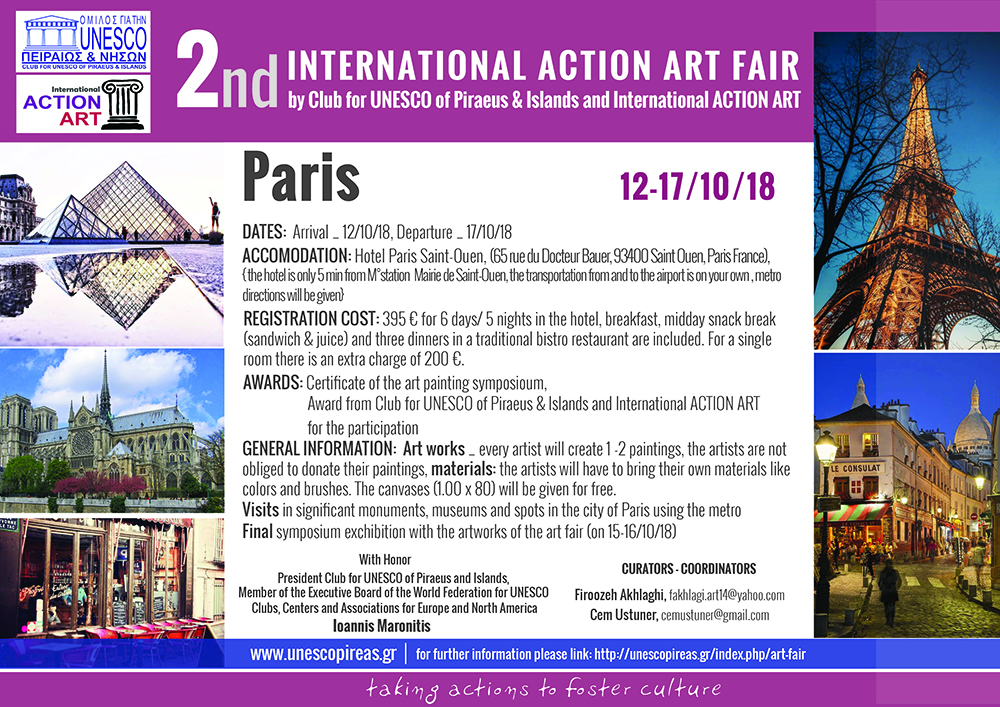 2nd INTERNATIONAL ACTION ART FAIR - PARIS